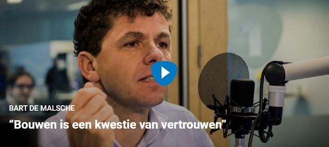 Bart De Malsche bouwen is een kwestie van vertrouwen
