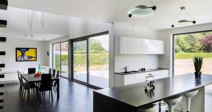 Kookeiland Open Keuken : Half open keuken. beautiful moderne open keuken keukens realisaties