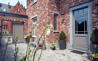 Klassieke voordeur
