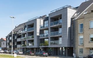 Appartementenproject, bankkantoor