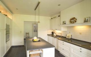 Klassieke keuken in een klassieke woning