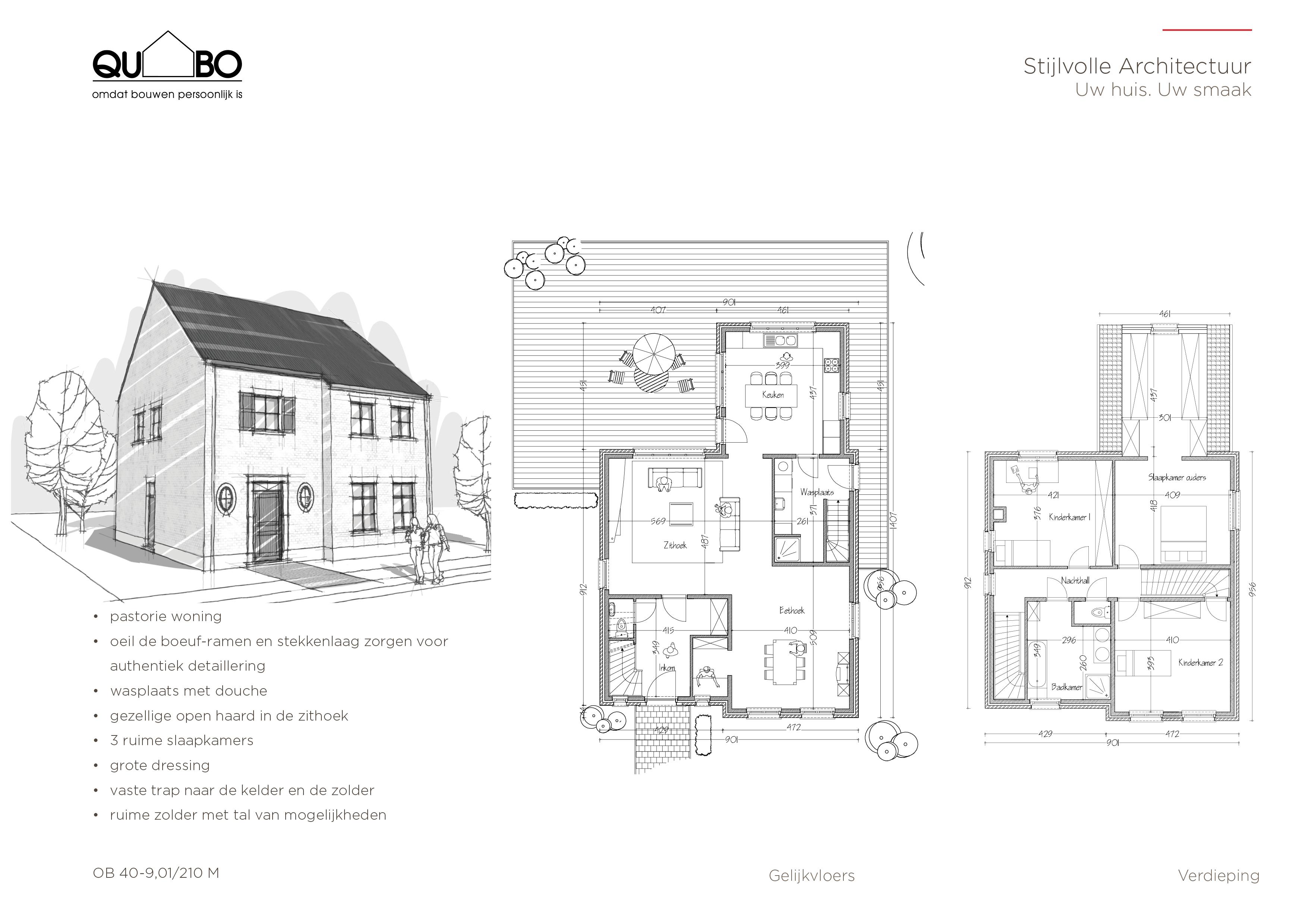 Voorbeeldplan 30 OB 40-9.01 210 M